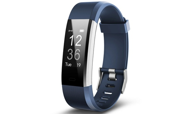 Touch Screen Activity Tracker with HR Monitor, G sensor GPS, Sports Mode and More Functions ($29.95) or Two ($54.95)