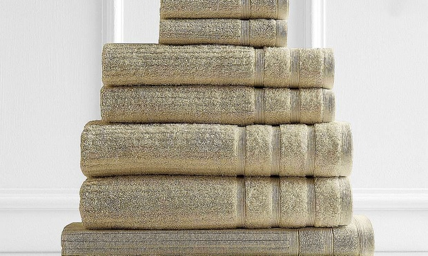 WINTER CLEARANCE: $35 for an Egyptian Cotton Eight Piece Towel Set (Dont Pay $129.95)