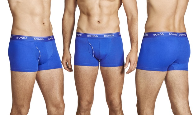 $39.95 for Six Pairs of Bonds Mens Trunks: Fit or Guyfront (Dont Pay up to $173.70)