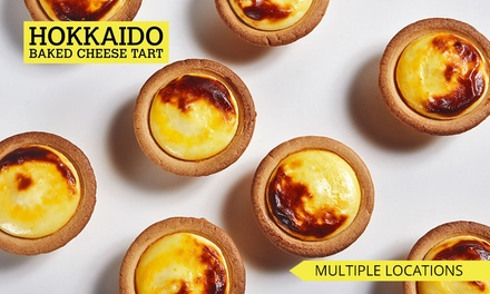 Assorted Cheese Tarts: 1 ($19), 2 ($35) or 3 Boxes ($50) at Hokkaido Baked Cheese Tart (Up to $68.70 Value), 9 Locations