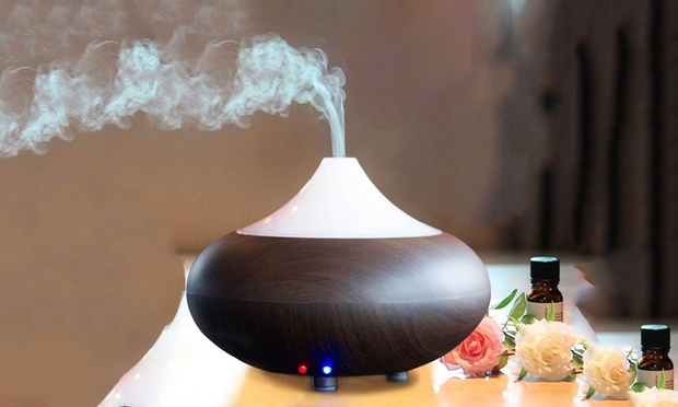 Ultrasonic Aroma Diffuser with Colour Changing LED: One ($26) or Two ($45)