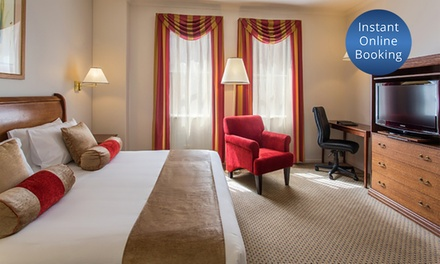 Adelaide, CBD: 1 or 2 Nights for Two with Wine, Late Check Out at Hotel Grand Chancellor Adelaide on Currie