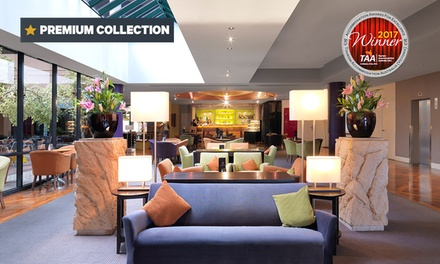 Melbourne: 1 or 2 Nights for Two with Late Check Out and Optional Breakky and Parking at Amora Hotel Riverwalk Melbourne