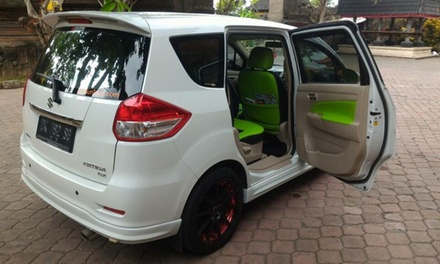 Bali: 6  or 8 Hour Minivan Hire with Private Driver for Two Up to Five People with Bali Sun Tours