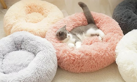 Soft Round Donut Pet Bed: Small ($24), Medium ($29) or Large ($35)