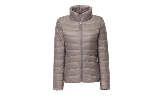 Womens Down Blend Puffer Jacket: One ($25) or Two ($35)