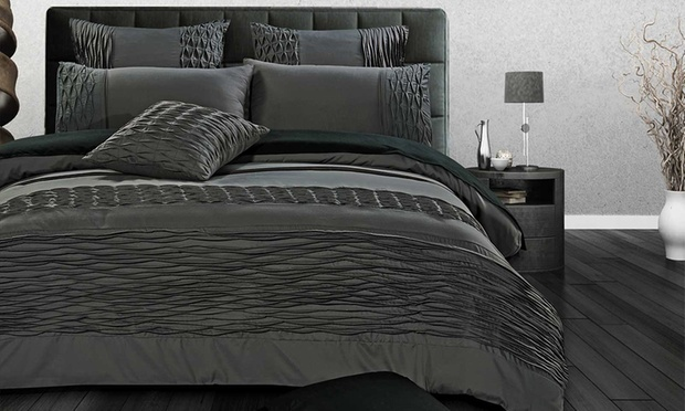 Hotel Style 3 Piece Quilt Cover Sets: Queen for ($49), King for ($59) or Super King for ($69)