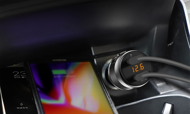 $24.95 for a Hands Free Wireless Bluetooth FM Transmitter Car Kit