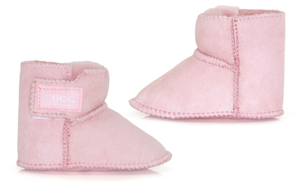 $24 for Ever Ugg Erin Baby Boots in Chestnut or Pink (Dont Pay $40)