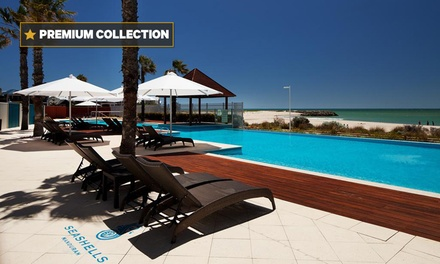 Mandurah: One  to Five Night Two Night Apartment Stay for Two or Four with Wine and Nespresso at Seashells Mandurah