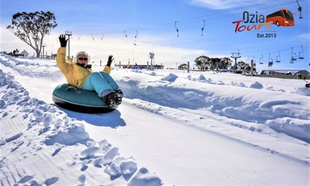 Sydney to Selwyn: One Day Overnight Mt Selwyn Snow Tour for One Person with Ozia Tours