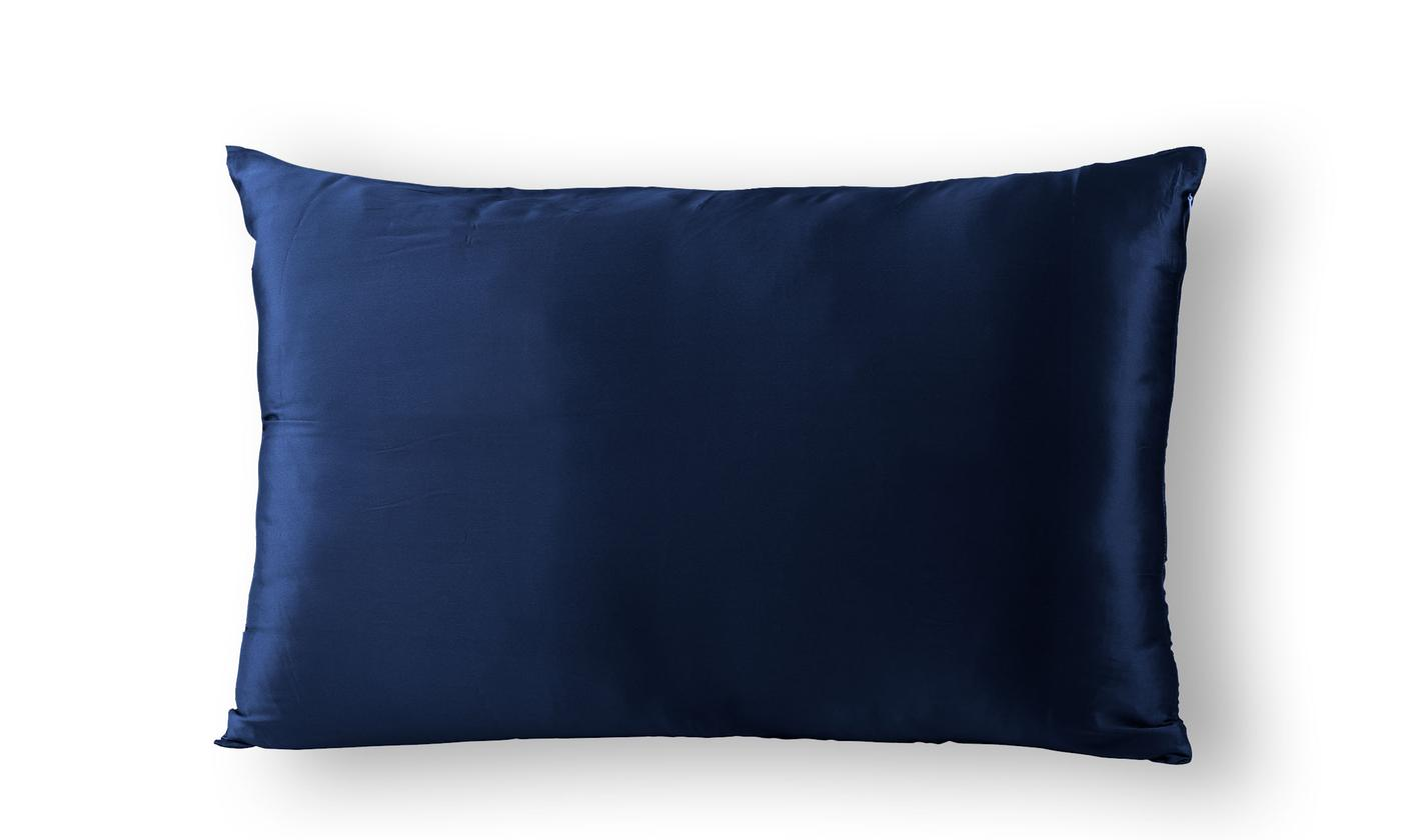 Two Sided Pure Mulberry Silk Pillowcases in a Choice of Colour: One ($32.95) or Two ($59) (Dont Pay up to $458)