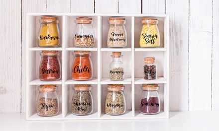 Personalised Storage Labels: 10 ($4), 20 ($7) or 30 ($12) (Dont Pay up to $51.84)