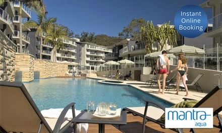 Port Stephens, Nelson Bay: 2 3 Nights in an Apartment for Up to 7 People at 4.5 Star Mantra Aqua
