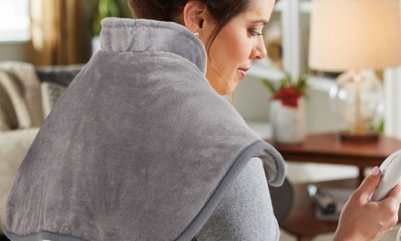 $29 for an Electric Neck and Shoulder Heating Wrap