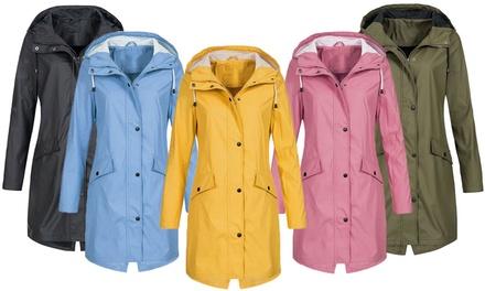 Womens Waterproof Long Jacket: One ($29) or Two ($55)