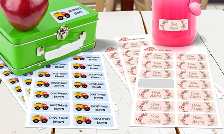 From $5 for a Multipack of Personalised Kids Vinyl Name Labels (Dont Pay up to $99.95)