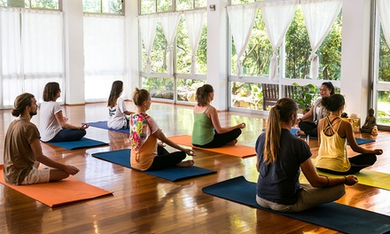Royal National Park, NSW: Up to Seven Night Yoga Escape with Classes and Meals at Heart & Soul Retreats
