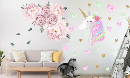 Removable Sticker Wall Decals: One ($9.95) or Two ($15)