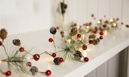 20 LED Battery Powered Christmas String Lights in a Choice of Design: One ($16), Two ($26) or Three ($36)
