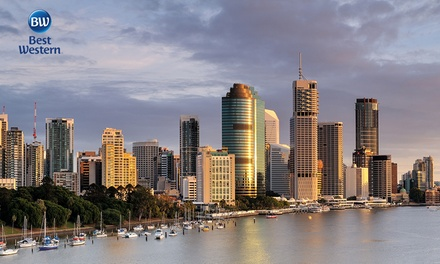 Brisbane, Queensland: 1 or 2 Night City Escape for Two with Options to Add Buffet Brekky at Best Western Astor Metropole