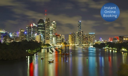 Brisbane: 1 3 Nights for Two, Three or Four People with Late Check Out at Econo Lodge City Star Brisbane