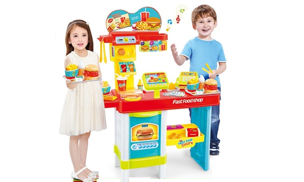 From $25 for a Kids Interactive Barbeque, Doctor, Garden or Fast Food Playset (Dont Pay up to $149)