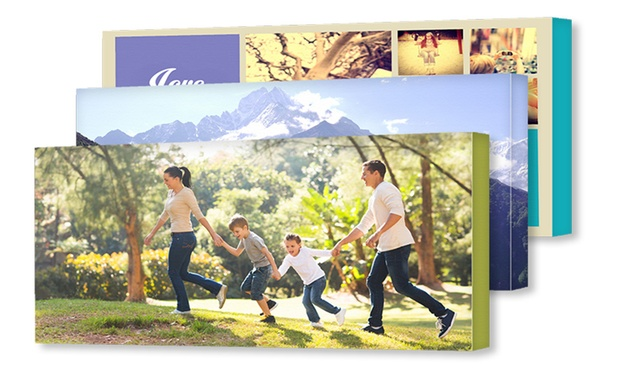 From $7.95 for a Personalised Canvas Print (Dont Pay up to $239.95)