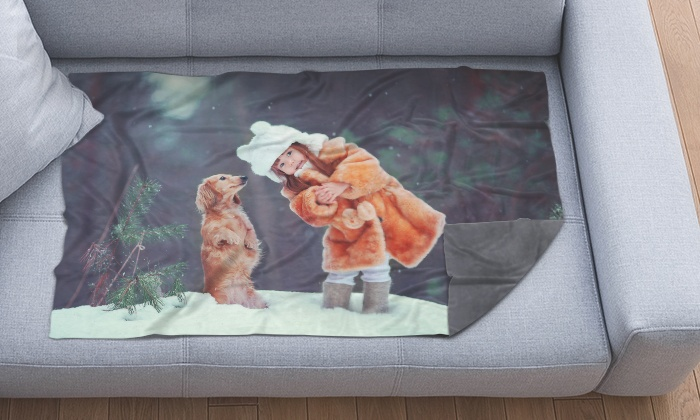 From $19 for a Personalised Photo Blanket (Dont Pay up to $283.90)