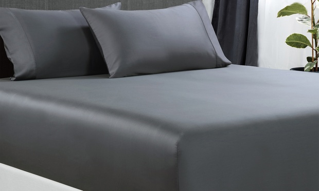 From $35 for a Bamboo Cotton Fitted Sheet Set (Dont Pay up to $169)
