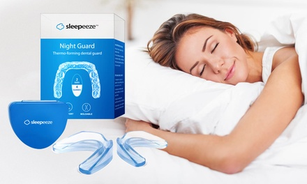 Sleepeeze Night Guard Thermo Forming Dental Trays: One Pack ($12.95) or Two Packs ($17.95) (Dont Pay up to $78)